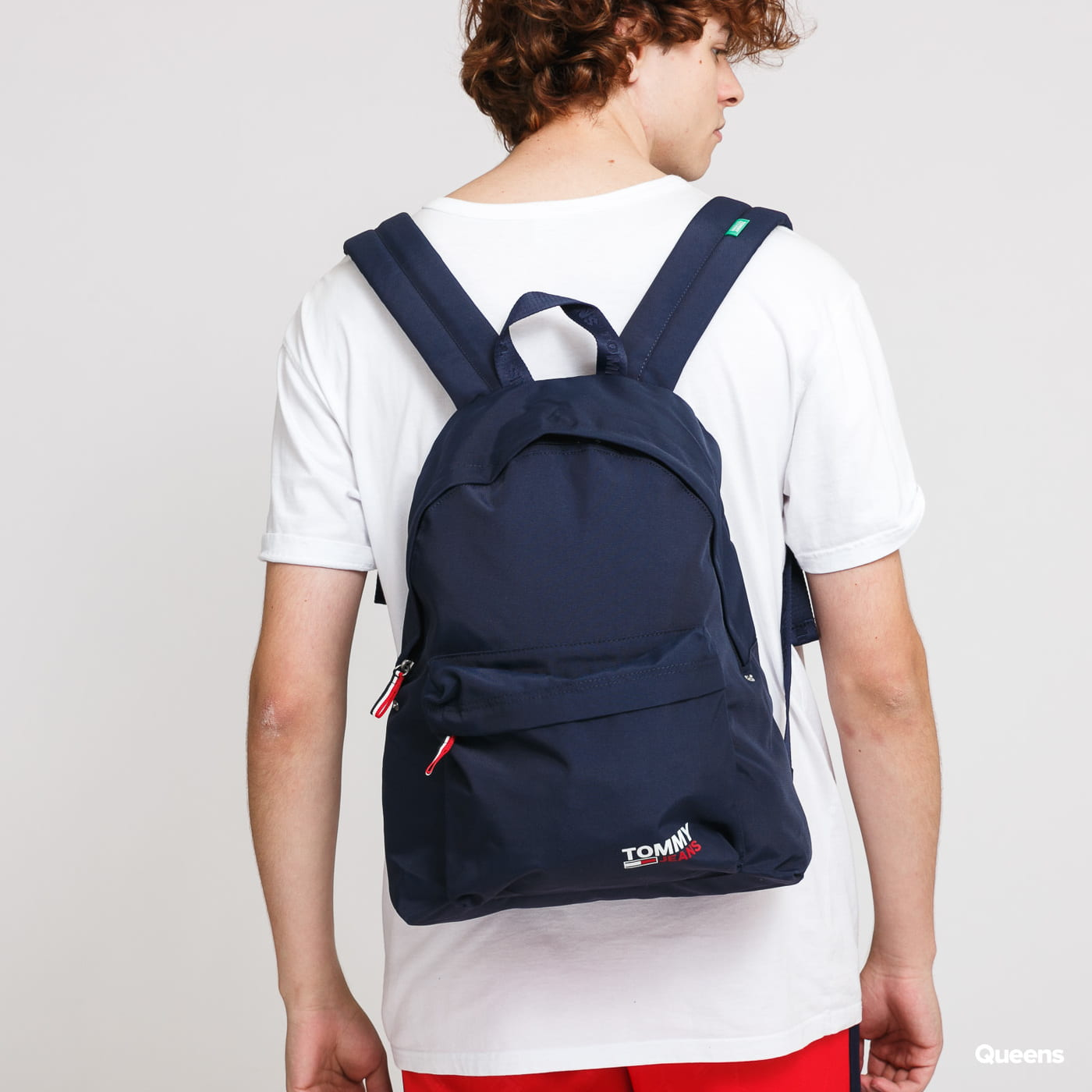 TOMMY JEANS Campus Boy Backpack blue / turquoise