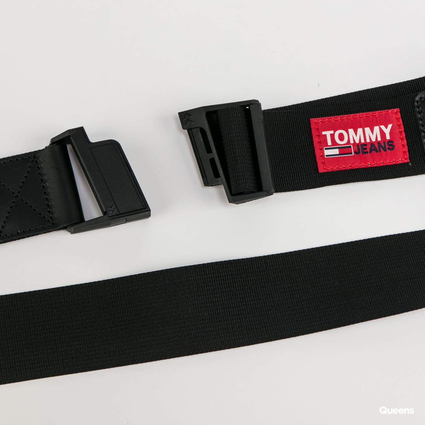 TOMMY JEANS Fast Clip Webbing Belt black