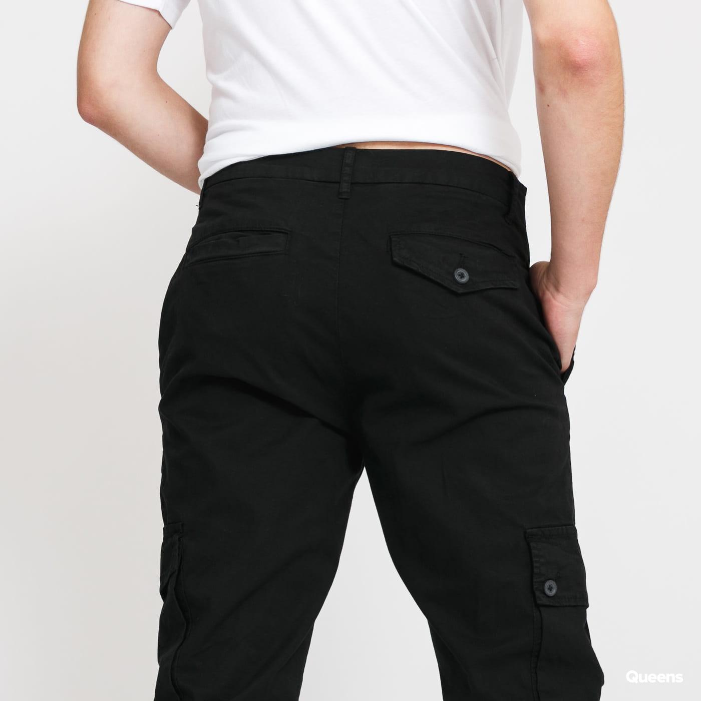 Urban Classics Tapered Cargo Pants černé