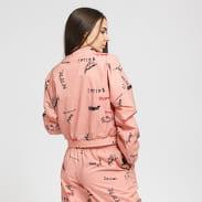 adidas Originals Track Top pink / black / red