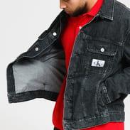 CALVIN KLEIN JEANS M Regular Denim Jacket bb075 - black icn