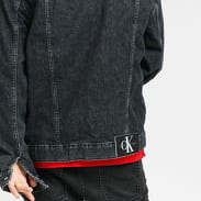 CALVIN KLEIN JEANS M Regular Denim Jacket bb075 - black icn
