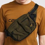 Carhartt WIP Military Hip Bag tmavě olivová / černá