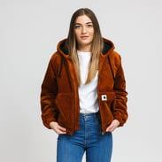 Carhartt WIP W' Corduroy Timber Jacket hnědá
