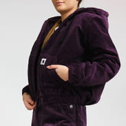 Carhartt WIP W' Corduroy Timber Jacket fialová