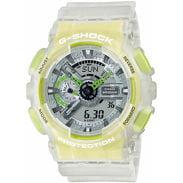 Casio G-Shock GA 110LS-7AER transparentní bílá
