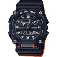 Casio G-Shock GA 900C-1A4ER černé / oranžové