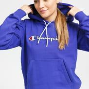 Champion Script Logo Hooded Sweatshirt fialová