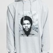 Chi Modu Ice Cube Hoodie melange šedá