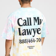Chinatown Market Lawyer Tee Tie Dye multicolor