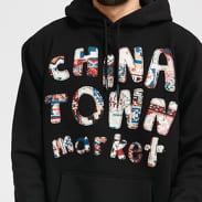 Chinatown Market Patchwork Hoodie černá