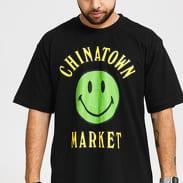 Chinatown Market Smiley Multi Tee černé
