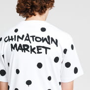 Chinatown Market Smiley Vandal Tee bílé