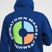 Chinatown Market Tech Wear Hoodie navy