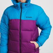 Columbia Pike Lake Hooded Jacket fialová / tyrkysová