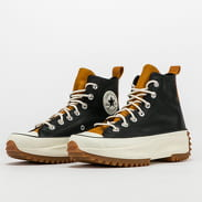 Converse Run Star Hike Hi black / saffron yellow / egret