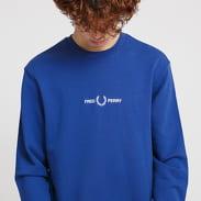 FRED PERRY Graphic Sweatshirt dark blue