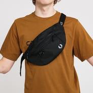 FRED PERRY Textured Poly Crossbody Bag černá