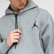 Jordan M J Jumpman Air Fleece PO Hoodie melange šedá
