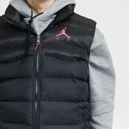 Jordan M J Jumpman Air Puffer Vest černá