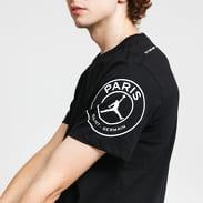 Jordan M J PSG Logo Tee černé