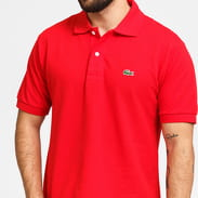 LACOSTE Men's Polo T-Shirt red