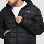 LACOSTE Men's Sport Water Resistant Jacket černá