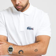 LACOSTE National Geographic Polo bílé