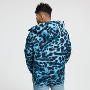 LACOSTE National Geographic Puffer Jacket světle modrá / černá