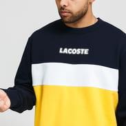 LACOSTE Sport Crewneck žlutá / navy / bílá