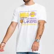 Mitchell & Ness NBA LA Lakers Western Conference Tee bílé