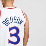 Mitchell & Ness NBA Swingman Jersey Philadelphia Sixers Allen Iverson bílý