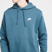 Nike M NSW Club Hoodie PO BB tmavě tyrkysová