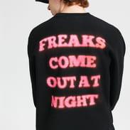 PLEASURES Freaks Premium Crewneck černá