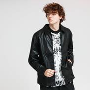PLEASURES Loaded Zip Jacket černá
