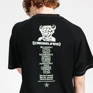 PLEASURES Vulgar Raglan Shirt černé