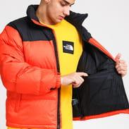 The North Face M 1996 Retro Nuptse Jacket tmavě oranžová / černá