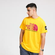 The North Face M Fine Alpine Tee 2 žluté