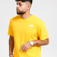 The North Face M S/S Red Box Tee žluté