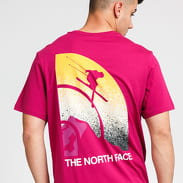 The North Face M Snow Maven Tee fialové
