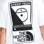 The North Face M Steep Tech Tee bílé