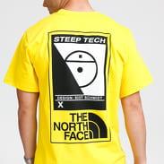 The North Face M Steep Tech Tee žluté