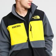The North Face Steep Tech FZ Fleece tmavě šedá / černá / žlutá