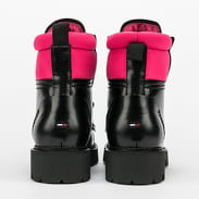TOMMY JEANS Fashion Pop Color Boot black / glamour pink