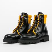 TOMMY JEANS Fashion Pop Color Boot black / golden bronze