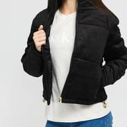 Urban Classics Ladies Corduroy Puffer Jacket černá