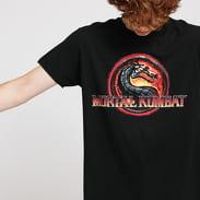 Urban Classics Mortal Kombat Logo Tee černé