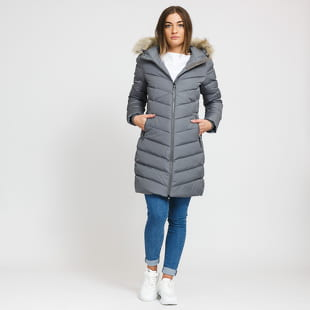 CALVIN KLEIN JEANS W Long Down Fitted Puffer Jacket