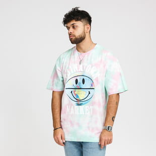 Chinatown Market Smiley Globe Ball Tee Tie Dye