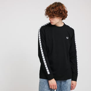 FRED PERRY Taped LS Tee
